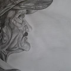 My First Portrait. Mr. Rajendra Kumar Singh