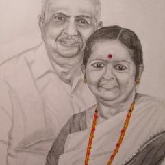 My Maternal Grandparents: Mr. U. Kamalaksha Shenoy and Mrs. U Shobha Shenoy