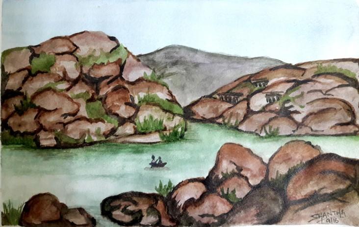 Tungabhadra-Day4 at Water Colour