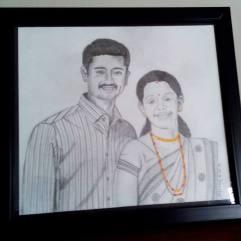 Mr. Venkatesh Kamath and Mrs. Pallavi Kamath
