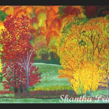 Acrylic Painting: Fall
