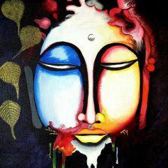 Acrylic Painting: The Buddha